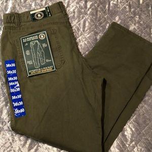 36x30 G.H.BASS OLIVE PANTS